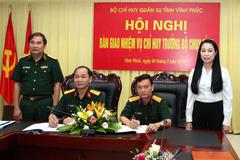 Bộ trưởng Quốc phòng bổ nhiệm Phó Tham mưu trưởng Quân khu 2.