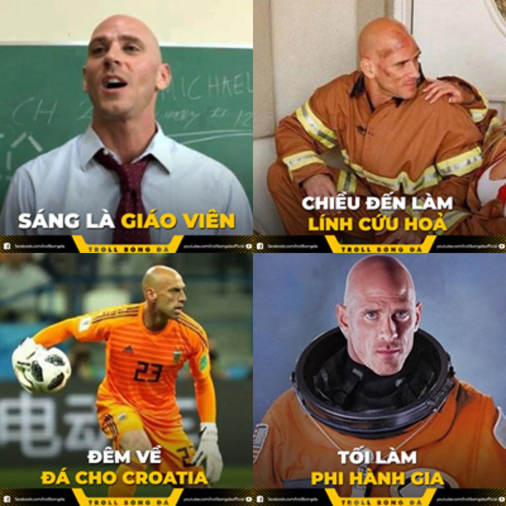 Dàn cầu thủ World Cup với kiểu tóc không giống ai đi vào ảnh chế