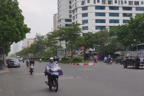 Hà Nội đón mưa vàng giải nhiệt