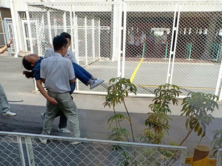 Hàng loạt công nhân ngất xỉu vì hít phải khí lạ