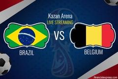 Link xem trực tiếp Brazil vs Bỉ, 01h ngày 7/7