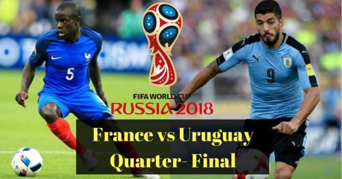 Link xem trực tiếp Pháp vs Uruguay, 21h ngày 6/7