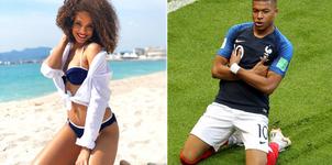 Vẻ bốc lửa của Hoa hậu Pháp đang hẹn hò danh thủ Mbappe