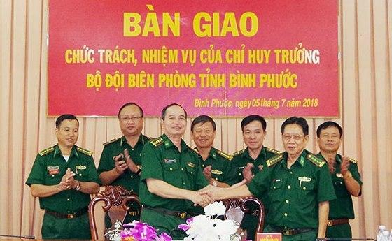 Bổ nhiệm Chỉ huy trưởng Bộ đội Biên phòng Bình Phước