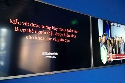 Tranh luận trái chiều về Triển lãm cơ thể lần đầu tiên ở Việt Nam