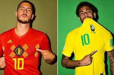 Đội hình ra sân Brazil vs Bỉ: Marcelo tái xuất