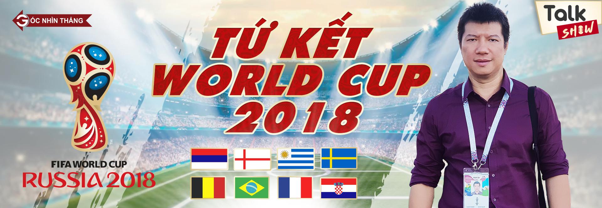 World Cup 2018,BLV Vũ Quang Huy,Tứ kết World Cup 2018,Pháp,Uruguay