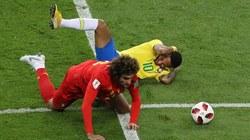 """Neymar muối mặt vì liên tục """"diễn kịch"""" bất thành trước Bỉ"""