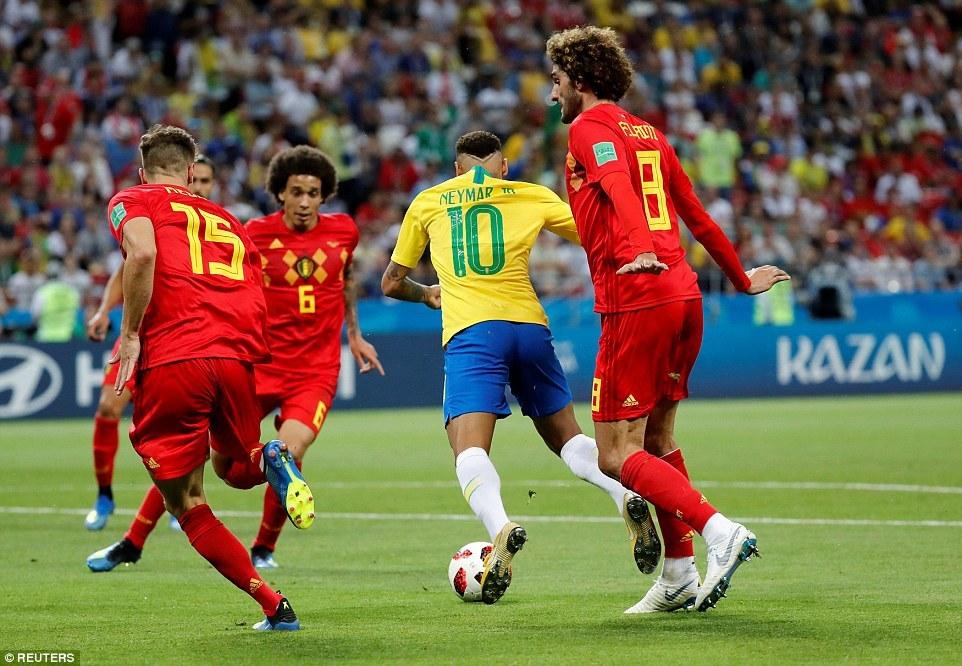 Neymar,Bỉ,Brazil