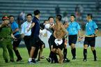 Sân Thiên Trường bị cấm khán giả sau sự cố CĐV hành hung trọng tài