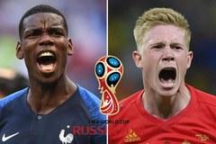 Xác định 2 cặp đấu bán kết World Cup 2018