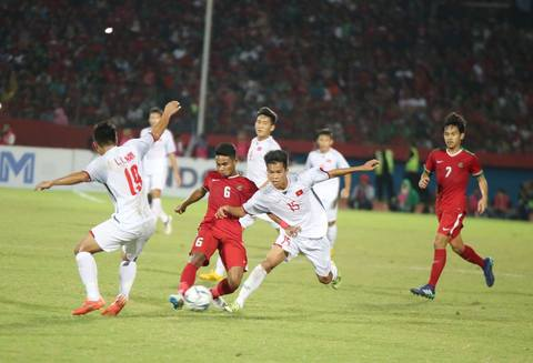 Video U19 Việt Nam 0-1 U19 Indonesia