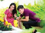 Vườn xanh mát, trĩu quả ở biệt thự triệu đô của sao Việt