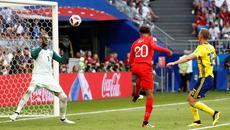Video bàn thắng Anh 2-0 Thụy Điển