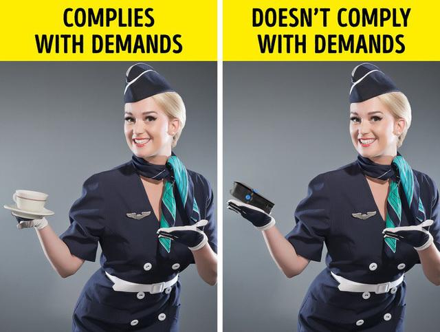 Sự thật ít biết về các tiếp viên hàng không