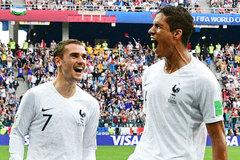Đội hình hay nhất tứ kết World Cup: Tôn vinh Griezmann, De Bruyne