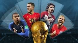 Bán kết World Cup 2018: 4 anh tài, 1 giấc mơ, nhận diện kẻ lên ngôi