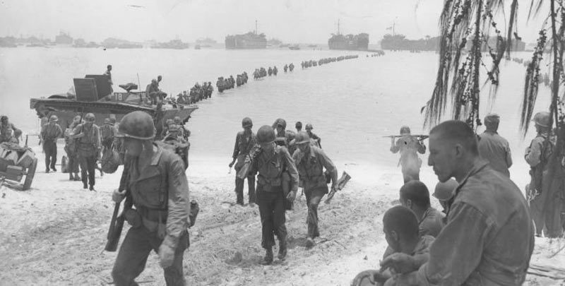Ngày này năm xưa: Trận chiến đẫm máu giữa Mỹ và phát xít Nhật