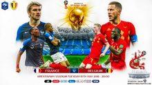 Kịch bản Pháp vs Bỉ: Lần đầu tiên cho Quỷ đỏ