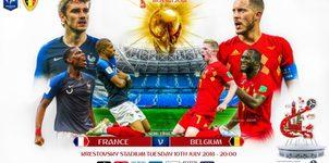 Xem trực tiếp bán kết Pháp vs Bỉ ở kênh nào?