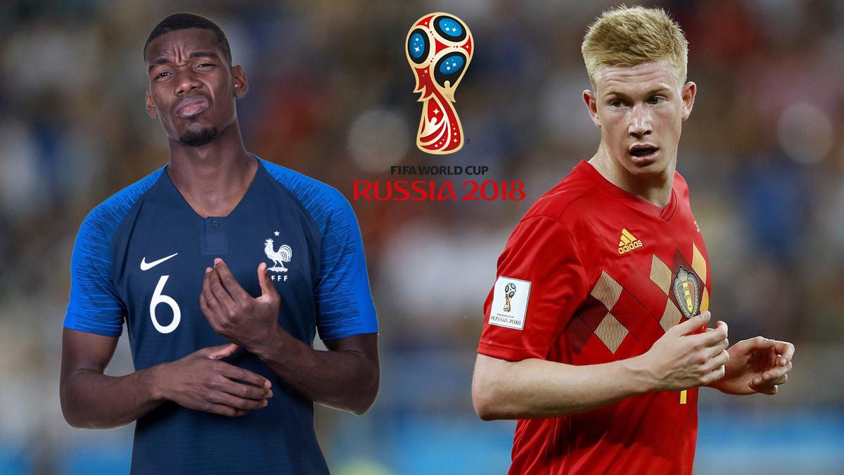 Pháp,Bỉ,Pháp vs Bỉ,Pogba,De Bruyne,bán kết World Cup