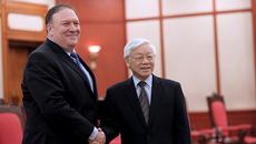 Tổng bí thư Nguyễn Phú Trọng tiếp Ngoại trưởng Hoa Kỳ