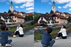 Bà mẹ nào cũng mong có một thợ chụp ảnh riêng như thế này