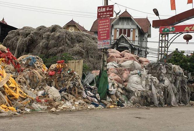 làng đồng nát,làng tỷ phú,thu mua phế liệu