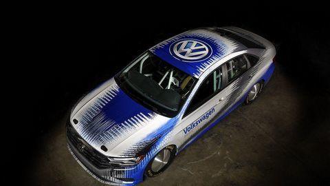 Xe độSedan Volkswagen Jetta tham vọng phá kỷ lục tốc độ