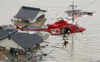 Hình ảnh lũ 'nhấn chìm' miền tây Nhật Bản, gần 100 người chết