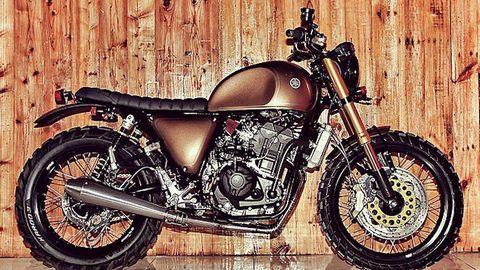 """Xe độhoài cổ """"thoát xác"""" từ sportbike Yamaha R25"""