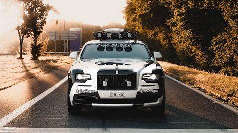 """Xe độ Rolls-Royce Wraith """"điên rồ"""" nhất thế giới giá 7,35 tỷ"""