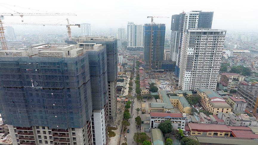 Giao dịch chung cư Hà Nội giảm mạnh
