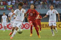Thắng Myanmar 4-3, tuyển nữ Việt Nam vào bán kết gặp Australia