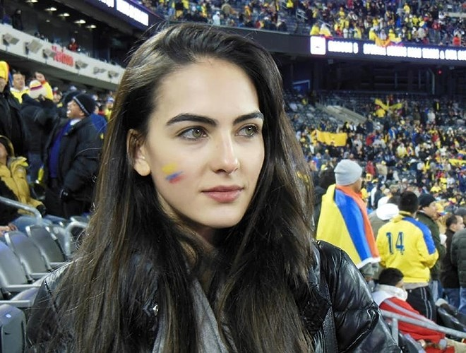 Dàn nữ cổ động viên hấp dẫn nhất World Cup 2018