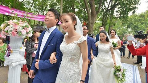 Hà Nội khuyến khích không cưới ở khách sạn 5 sao