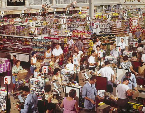 Gần trăm năm trước, người dân Mỹ mua sắm thế nào?