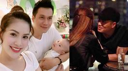 Vợ Việt Anh lên tiếng trước hình ảnh thân mật của chồng và Quế Vân