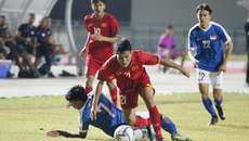 Hoà U19 Singapore, U19 Việt Nam chia tay giải Đông Nam Á