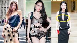 Những trang phục gây hiểu lầm tai hại của Hà Hồ, Thủy Tiên, Ngọc Trinh