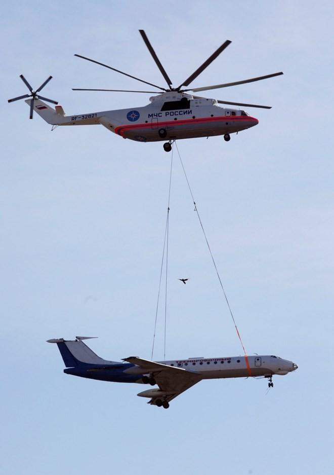 Lào sở hữu trực thăng lớn nhất thế giới: Nhiều nước bất ngờ