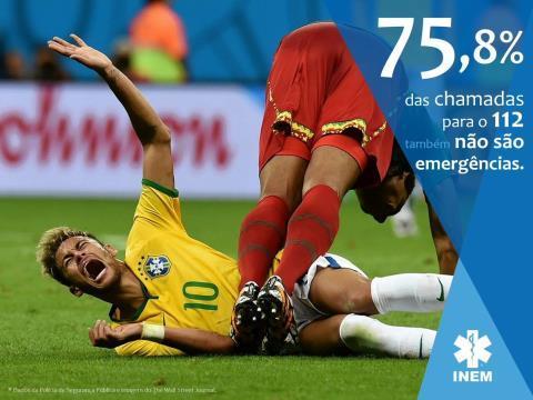 Ảnh Neymar ăn vạ tại World Cup được dùng để cảnh báo cuộc gọi mạo danh