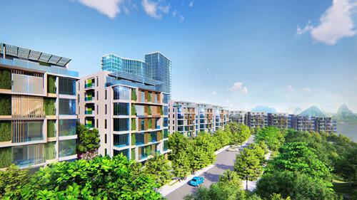 Dự án xanh - xu hướng tất yếu của phân khúc bất động sản