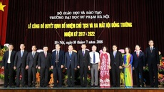 Trường ĐH Sư phạm Hà Nội ra mắt hội đồng trường đầu tiên