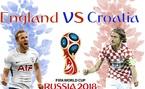 Xem trực tiếp bán kết Anh vs Croatia ở đâu?