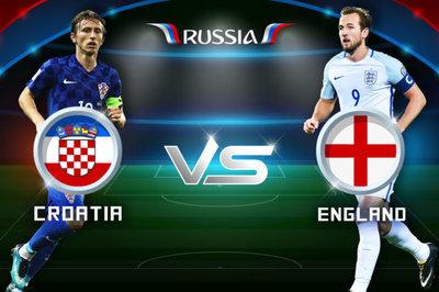 Link xem trực tiếp Anh vs Croatia 01h ngày 12/7