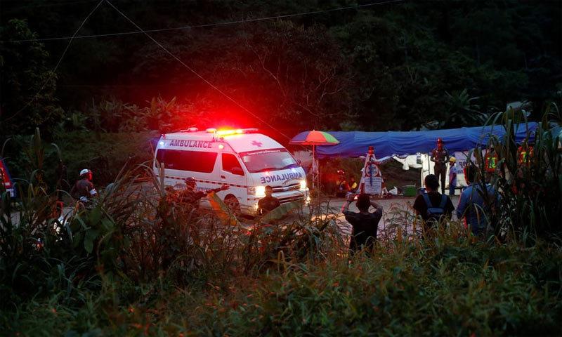 Những hình ảnh ấn tượng về chiến dịch giải cứu đội bóng Thái