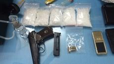 Sắm súng quân dụng đi buôn ma túy ở đất Cảng