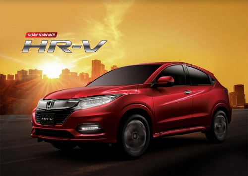 Honda HR-V hoàn toàn mới chuẩn bị 'trình làng' thị trường Việt