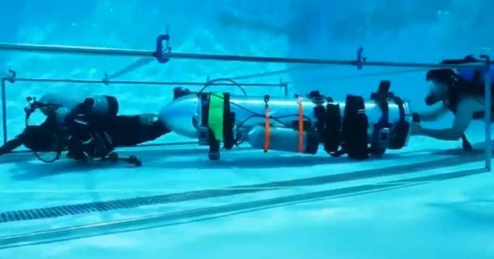 giải cứu đội bóng Thái Lan,đội bóng Thái Lan,tàu ngầm,Elon Musk
